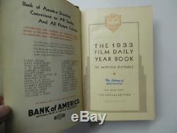 1933 Film Daily Year Book of Motion Pictures Fred Schuessler Gone With The Wind
