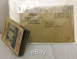 1934 Babe Ruth Flip Movie Book GREAT CONDITION With orig. Mailed Envelope