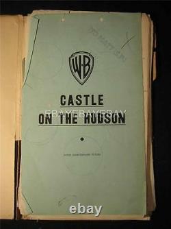 1940 Castle On The Hudson John Garfield Vintage Original Movie Script MS1