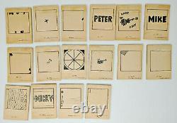 1967 The Monkees Flip Movie Book Set #1-16