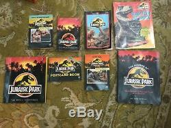 1993 Jurassic Park MOVIE Book Gift LOT 1st Edition MAKING Book Many titles