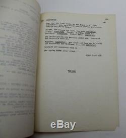 ALL THE PRESIDENT'S MEN / William Goldman 1975 Movie Script Screenplay Watergate