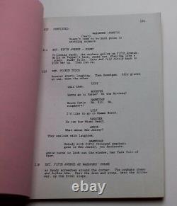 ANNIE / 1980 Movie Script Screenplay, Carol Burnett, Directed by John Huston