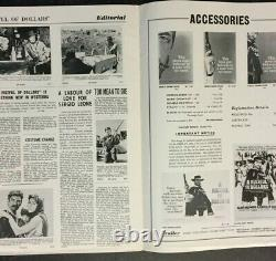 A FISTFUL OF DOLLARS 1967 Original Large Film Movie UK Campaign Press Book