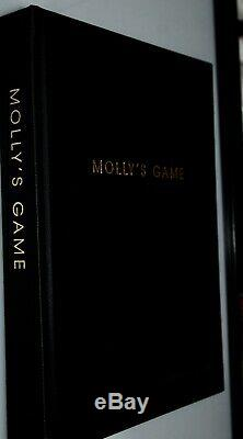 Aaron Sorkin Hand Signed Molly's Game Movie Script Fyc For Your Consideration