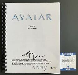 Actor Joel David Moore Autographed Avatar Full Movie Script Signed Beckett COA
