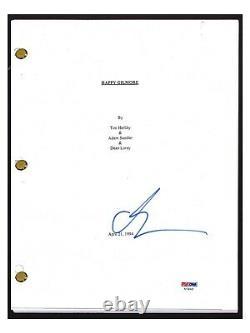 Adam Sandler Signed Autographed HAPPY GILMORE Movie Script PSA/DNA COA