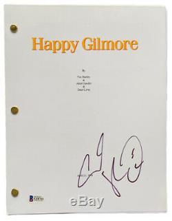 Adam Sandler Signed Happy Gilmore Full Movie Script G18741
