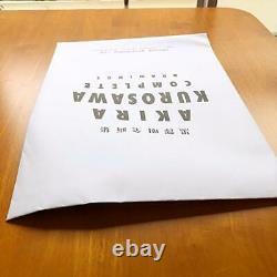 Akira Kurosawa Complete Drawing First Edition Limited ART BOOK movie Japan