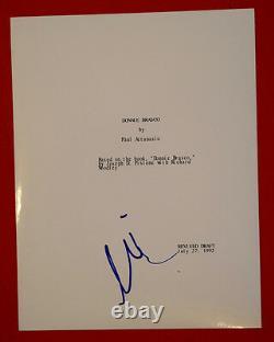 Al Pacino Signed Autographed Donnie Brasco Full Movie Script