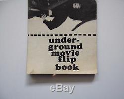 Andy Warhol & Jack Smith Underground Movie Flip Book 1966 Rare Aspen Magazine