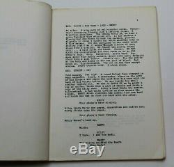 Angel Heart / Alan Parker 1987 Screenplay Agency Draft, Harry Angel horror film