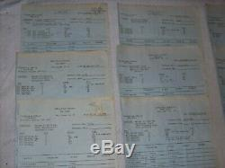 Authentic 1979 Steve Martin Movie The Jerk Production Used Call Sheets & Maps