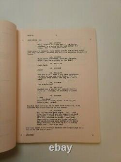 BATES MOTEL / Richard Rothstein 1987 TV Movie Script, death of Norman Bates