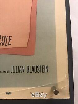 BELL BOOK CANDLE Movie Poster (Fine) 30X40 1958 James Stewart Kim Novak 059