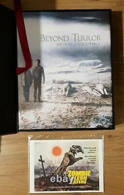 BEYOND TERROR FILMS OF LUCIO FULCI BOOK OF EIBON DELUXE LIMITED EDITION withDVD