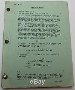 Baby Blue Marine 1975 Movie Script starring Jan Michael Vincent from Airwolf