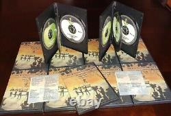 Beatles Film and TV Chronicle 1961 1970 Hardcover Book with Free DVD Set