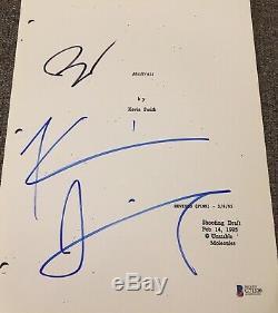 Ben Affleck & Kevin Smith Signed Autograph Mallrats Movie Script Beckett Coa