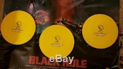 Black Hole Original Vintage 16mm Movie 3 Disney Reels, 4x6 Poster, Autographs