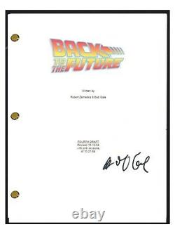 Bob Gale Signed Autographed BACK TO THE FUTURE Movie Script COA