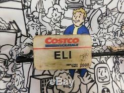 Book of Eli Production used Costco Name tag Movie prop w CoA Denzel apocalypse