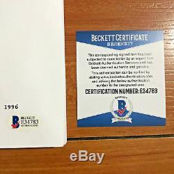 CHARLES FLEISCHER SIGNED WHO FRAMED ROGER RABBIT MOVIE SCRIPT with BECKETT BAS COA