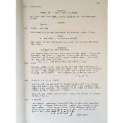 CONAN THE BARBARIAN Original Movie Script 9x12 in. 1982 Arnold Schwarzeneg