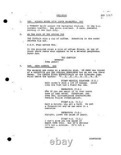 CRUISING extremely rare AL PACINO movie screenplay by WILLIAM FRIEDKIN