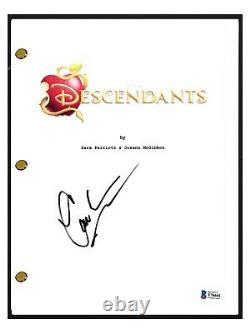 Cameron Boyce Signed Autographed DESCENDANTS Movie Script Beckett BAS COA
