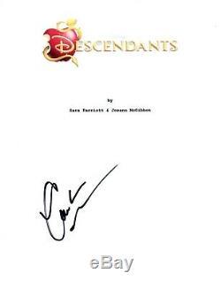 Cameron Boyce Signed Autographed DESCENDANTS Movie Script COA