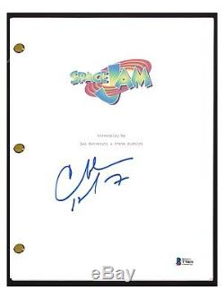 Charles Barkley Signed Autographed SPACE JAM Full Movie Script Beckett BAS COA