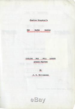 Charles Williams WATER BABIES Original reatment for an unproduced film #138839