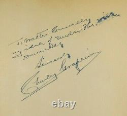 Charley Grapewin Uncle Henry Wizard Of Oz Film 1939 Autograph Signed Book'Rare