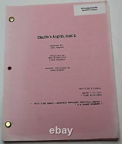 Charlie's Angels Full Throttle 2002 Movie Script Cameron Diaz, Drew Barrymore