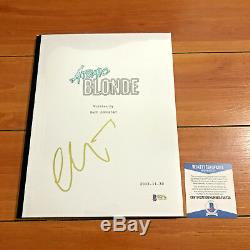 Charlize Theron Signed Atomic Blonde Full 99 Page Movie Script Beckett Bas Coa