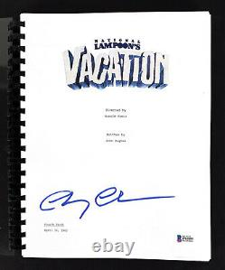 Chevy Chase Vacation Authentic Signed Movie Script Autographed BAS Witnessed