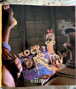 Chicken Run Rare Promotional Eggs & Hatching the Movie Book Set