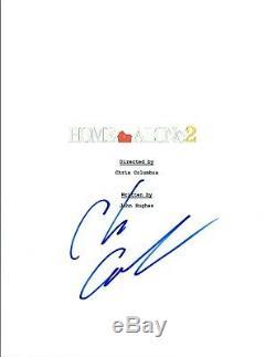 Chris Columbus Signed Autographed HOME ALONE 2 Movie Script COA VD