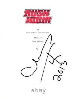 Chris Tucker Signed Autographed RUSH HOUR Full Movie Script COA