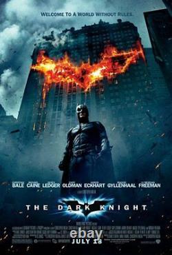 Christian Bale Signed The Dark Knight Full Movie Script (JSA COA) Batman