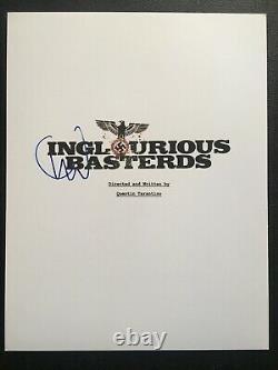 Christoph Waltz Signed Inglourious Basterds Full Movie Script
