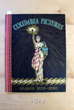 Columbia Pictures (1929-1930) US Movie Studio Exhibitor Book (9.5 X 12)