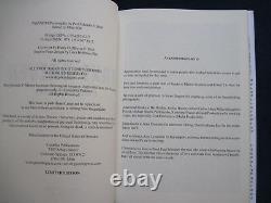 DELUXE TAXI DRIVER SCRIPT SIGNED by DE NIRO, SCORSESE & SCHRADER, Ltd. Edition