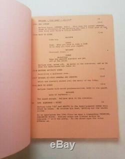 DIE HARD / Jeb Stuart 1988 Screenplay, classic Bruce Willis NYPD action film