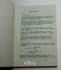 Damien Omen II 1977 Movie Script William Holden & Lee Grant, Horror Film