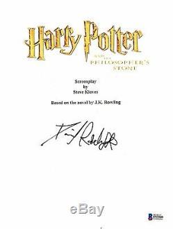 Daniel Radcliffe Signed Autographed Harry Potter Movie Script Beckett Bas Coa 1