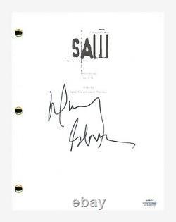 Danny Glover Signed Autographed SAW Full Movie Script Screenplay Horror ACOA COA
