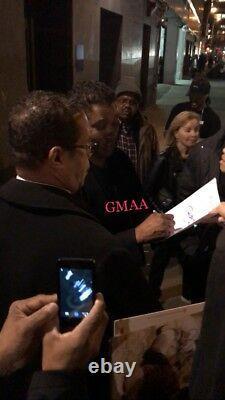 Denzel Washington Signed Autograph Man On Fire Complete Movie Script Proof