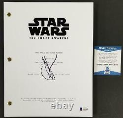 Director JJ Abrams signed Star Wars The Force Awakens FULL Movie Script (F) BAS